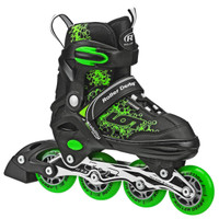 Roller Derby - ION 7.2 Boy's Inline Skates Adjustable Sizes