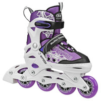 Roller Derby - ION 7.2 Girl's Inline Skates Adjustable Sizes