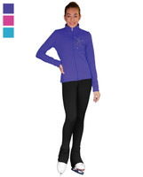 ChloeNoel Outfit -JT811 Mini Skating Crystals Jacket and ChloeNoel P22 Pants