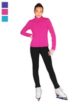 ChloeNoel Outfit- JT811 Solid Fleece Fitted Elite Ice Skating Jacket (no crystals) and ChloeNoel P22 Pants