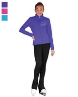 ChloeNoel Outfit - JT811 Blue Snowflakes Crystals Jacket and ChloeNoel P22 Pants