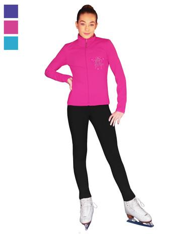 ChloeNoel Outfit - JT811 Mini Fuchsia Ribbon Crystals Jacket and ChloeNoel P22 Pants