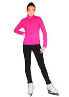 ChloeNoel Outfit -  JS735 Solid Color Elite Ice Skating Jacket w/ Thumb Holes (no crystals) and ChloeNoel P23 Pants