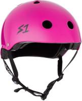 S1 Lifer Helmet - Bright Purple Gloss