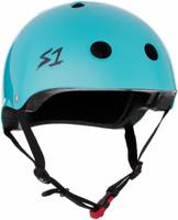 S1 Mini Lifer Helmet - Lagoon Gloss
