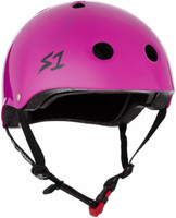 S1 Mini Lifer Helmet - Bright Purple Gloss
