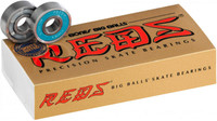 Bones Big Balls Reds Skateboard Bearings (16 Pack)