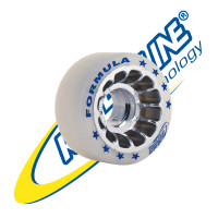Roll-Line Formula Dance Outdoor Wheels (Set of 8, 62mm, Hardness 88A)