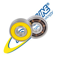 Roll-Line Speed RACE ABEC 9 – 7mm & 8mm Professional Bearings (Set of 16)
