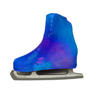 Metallic Figure Skating Boot Covers by Kami-So - Cotton Candy