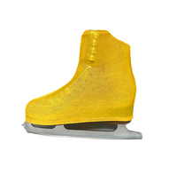 Metallic Figure Skating Boot Covers by Kami-So - Metallic Gold 2