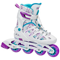 Roller Derby - Stinger 5.2 Girls Size Adjustable Inline Skates