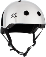 S1 Lifer Helmet - Silver Mirror Gloss