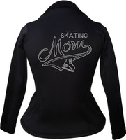 Kami-So Polartec Ice Skating Peplum Design Jacket - Skating Mom