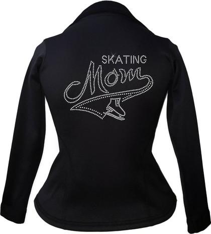 Kami-So Polartec Ice Skating Peplum Design Jacket - Skating Mom