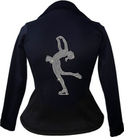Kami-So Polartec Ice Skating Peplum Design Jacket - Layback Spin
