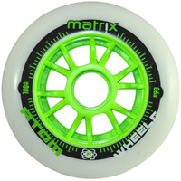 Atom Inline Outdoor Wheels - Matrix (Set of 8) Used