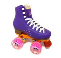 Kami-So Quad Roller Skates, Purple - Size US JUNIOR 12 Only