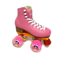 Kami-So Quad Roller Skates, Pink - Size US JUNIOR 1 Only