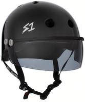 S1 Lifer Visor Helmet - GEN 2 - Black Gloss w/ Tint Visor