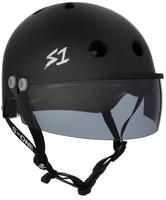 S1 Lifer Visor Helmet - GEN 2 - Black Matte w/ Tint Visor