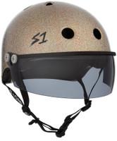 S1 Lifer Visor Helmet - GEN 2 - Gold Gloss Glitter w/ Tint Visor