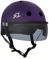 S1 Lifer Visor Helmet - GEN 2 - Purple Matte w/ Tint Visor
