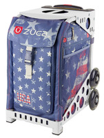 Zuca Sport Bag - Go USA (White Frame)