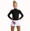 IceDress - Figure Skating Skirts - Bubble Gum (White)