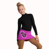 IceDress - Figure Skating Skirts - Bubble Gum (Purple)
