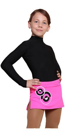 IceDress - Figure Skating Skirts - Bubble Gum (Hot Pink)
