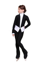 IceDress Figure Skating Pants - Thermal - Benefit (White and Black)