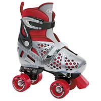 Roller Derby Recreational Roller Skates - Trac Star Boys Adjustable Quad Skates