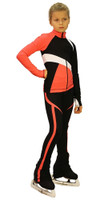 IceDress - IceDress Figure Skating Outfit - Thermal - Split (Coral)