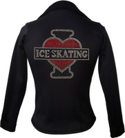 Kami-So Polartec Ice Skating Jacket - I Love Skating 4