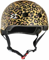 S1 Mega Lifer Helmet - Tan Matte Leopard Print
