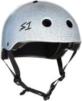S1 Lifer Helmet - White Gloss Glitter