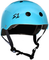 S1 Lifer Helmet - Light Blue Metallic Raymond Warner