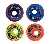 ESTRO JEN Bowl Bombers - Rollerbones Quad Roller Skate Wheels - designed in partnership with Moxi Skates