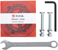 Zuca Wheel and Axle Repair Kit for Sport and Pro Zuca Frames