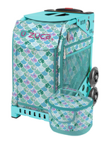 Zuca Sport Bag -  Kokomo Mermaid  w/Lunchbox (Limited Edition/Aqua Frame)