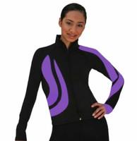 ChloeNoel J26 Swirls Figure Skating Jacket- Size AM Only (Refurbished)