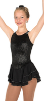 Jerry's Ice Skating  Dress 11 - Shimmer  (15% OFF, Black, Size 6-8)
