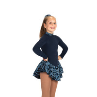 Jerry's Ice Skating Dress - 20 Fancy Fleece - Navy Blue
