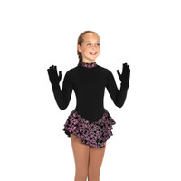 Jerry's Ice Skating Dress - 20 Fancy Fleece - Black Rose