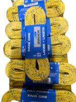 "Bauer Hockey Laces (Waxed, Yellow, 120"" (305cm))"