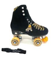 Moxi Panther Leopard Trick Setup Roller Skate