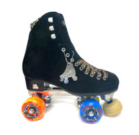 Moxi Panther Roller Skates - Bones Package - Michelle Stein Wheels and Jupiter Toe Stop