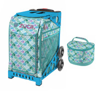 Zuca Sport Bag - Kokomo Mermaid w/Lunchbox (Limited Edition/Blue Frame)