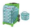 Zuca Sport Bag - Kokomo Mermaid w/Lunchbox (Limited Edition/Green Frame)